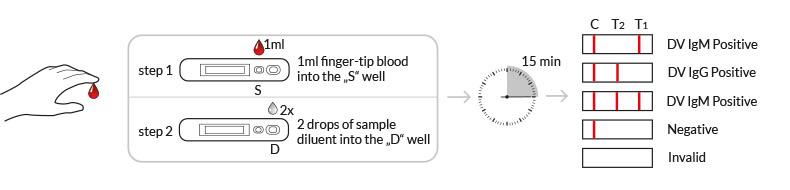 testprocedure dengue